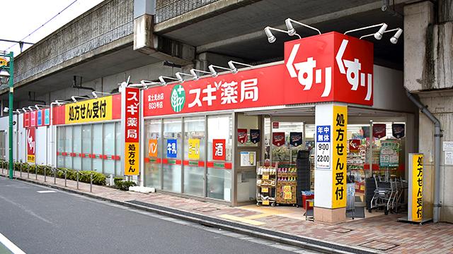 スギ薬局 富士見台店の画像