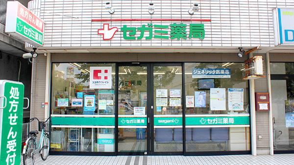 セガミ薬局三郷店