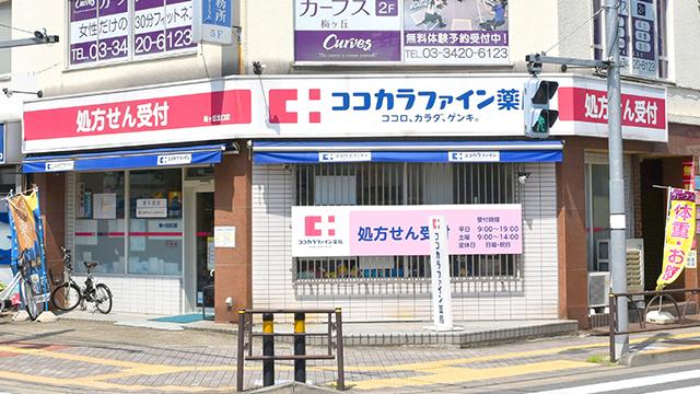 ココカラファイン薬局 梅ヶ丘北口店の画像