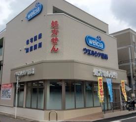 ウエルシア薬局 春日部市立医療センター前店の画像