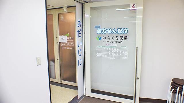 みらくる薬局 あすなろ昭和ビル店の画像