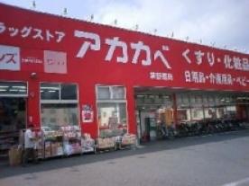 アカカベ薬局 禁野店の画像