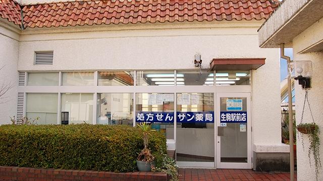サン薬局 生駒駅前店の画像